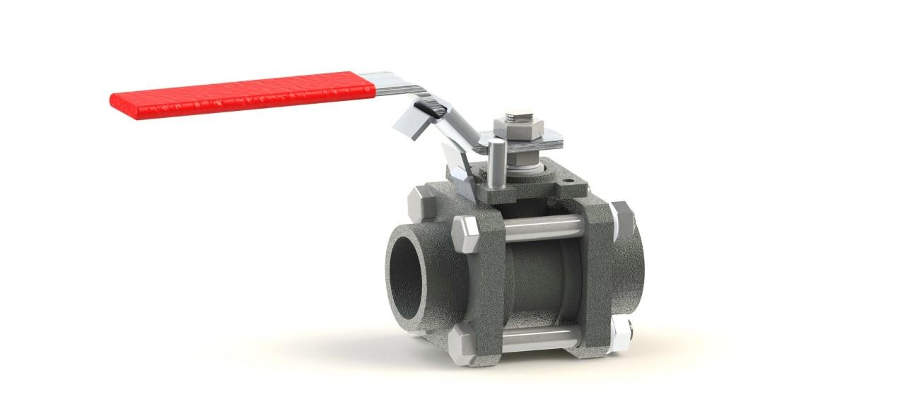 3-PC Severe Service Metal Seated Ball Valve, BV3 Series